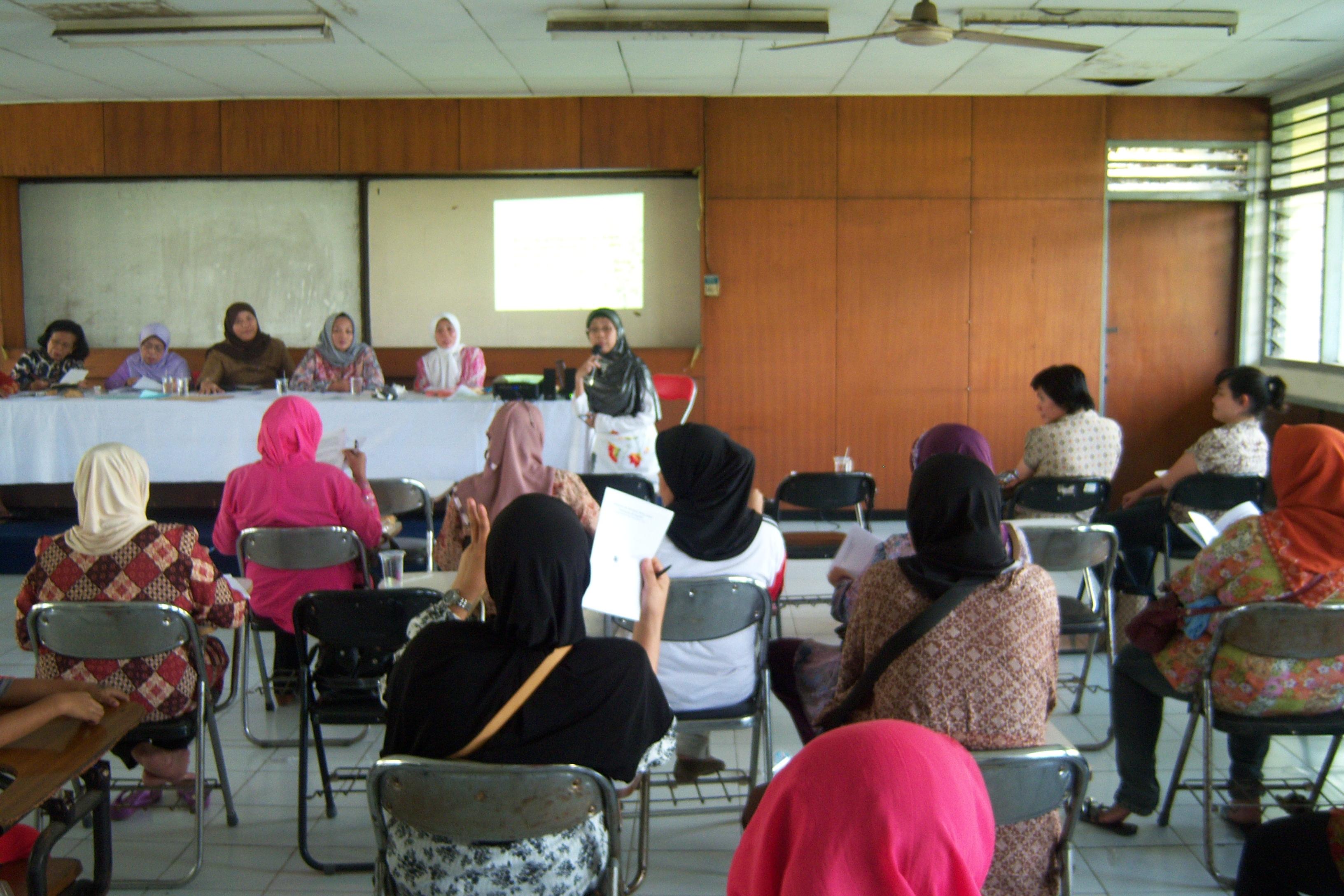 CRPD training at Wijaya Kusuma Village