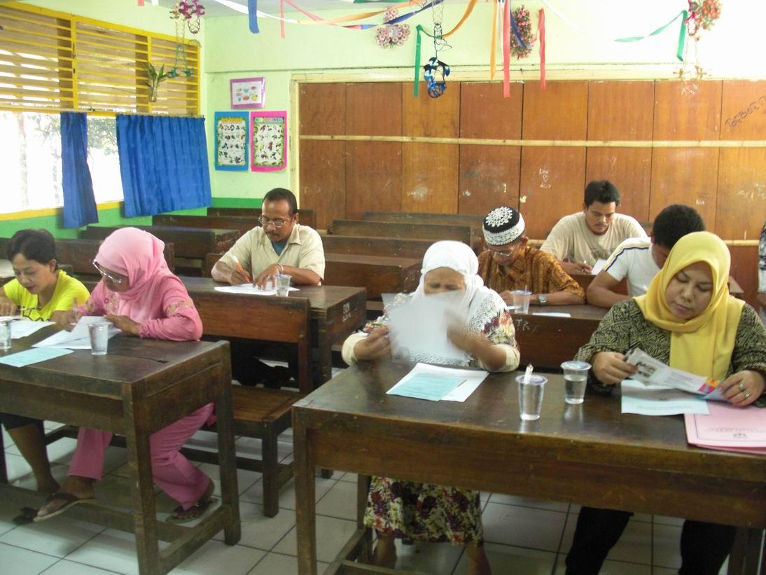 inclusive education training at SDN Slipi 15
