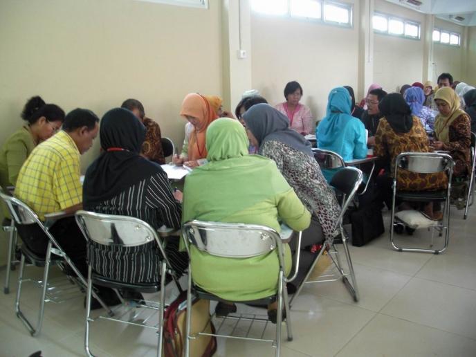 Inclusive Education training at SLBN 5